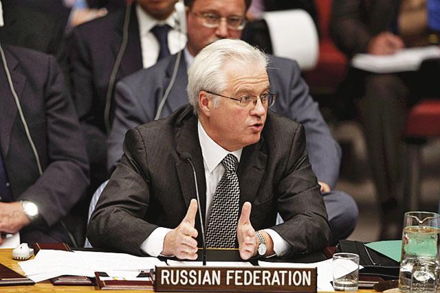 Россия в СБ ООН призвала Украину прекратить стрелять по мирным жителям Донбасса