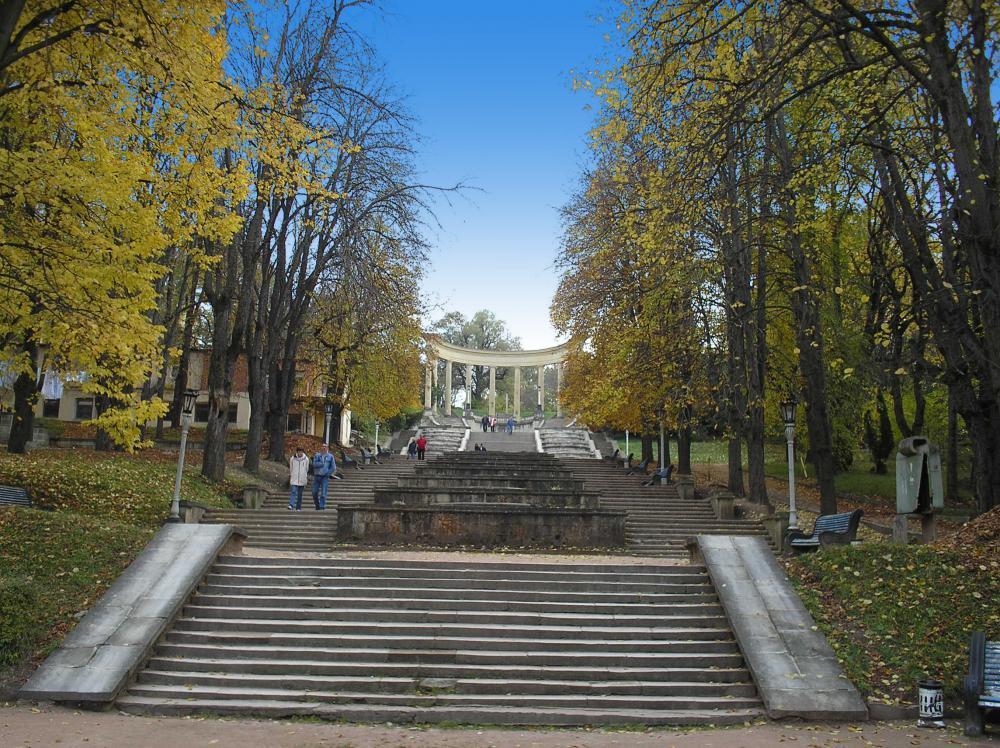 В Кисловодске отремонтируют лестницу