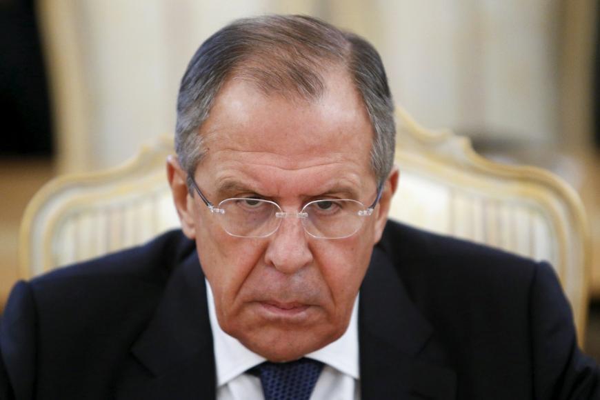 Лавров признался, что РФ обстреливала территорию Украины