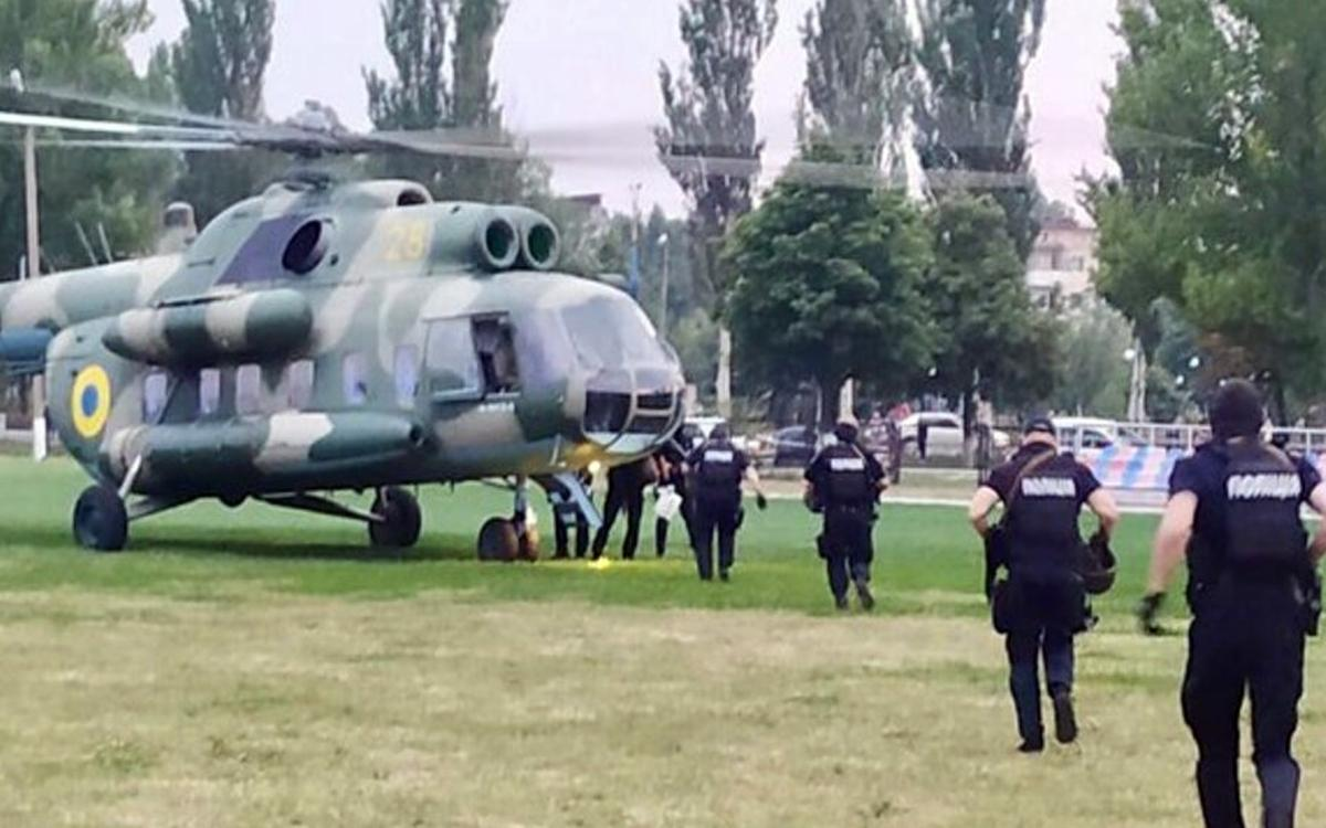 МВД Украины отправило спецназ в Донбасс для урегулирования ситуации с протестами