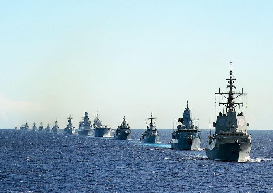 Военные корабли НАТО в Черном море