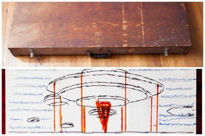 «Смешение религиозного и внеземного»: коробку с загадочными рисунками нашли в США
