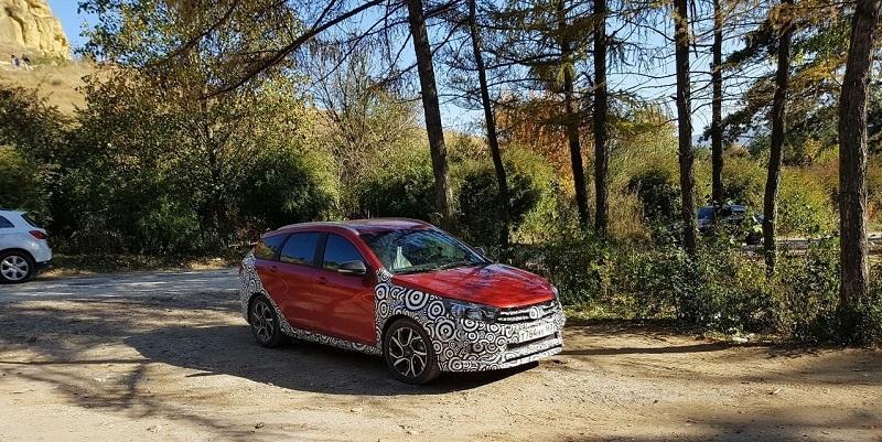 На дорогах Тольятти был замечен новый универсал LADA Vesta SW Sport