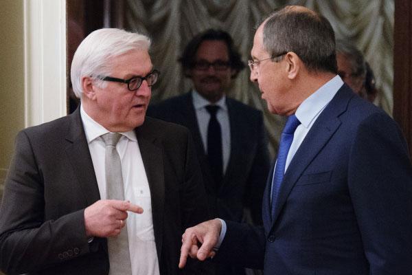 Встреча глав МИД России и Германии