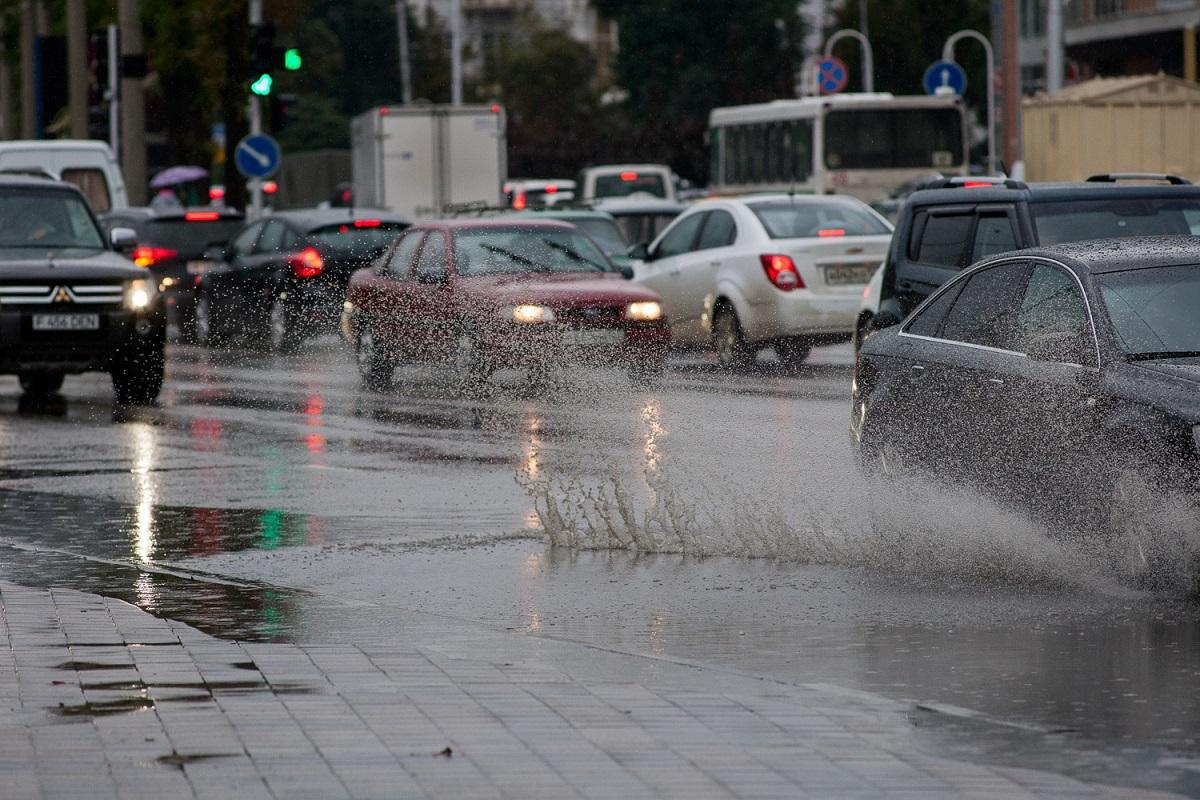 В Краснодаре объявлено второе за неделю штормовое предупреждение