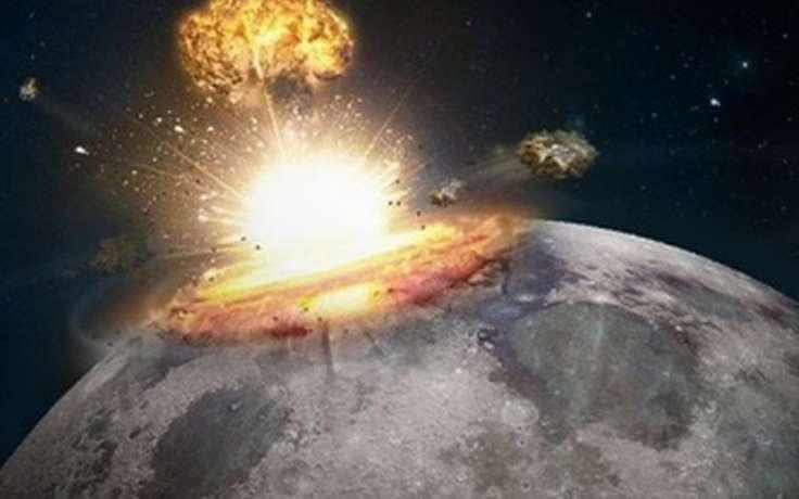 NASA бомбила инопланетян на Луне: на снимках обнаружен реактивный снаряд