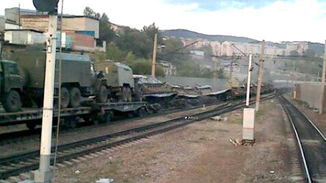 Железнодорожная катастрофа в Забайкалье