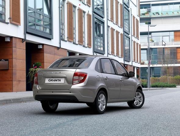 Обновленная Лада Гранта-2018 в новом кузове покорила Грозный – АвтоВАЗ