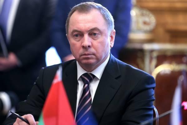 Глава МИД Белоруссии назвал «вызовом» размещение войск НАТО вВосточной Европе