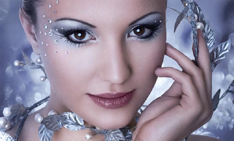 Новогодний макияж: как подобрать губную помаду и тени, лучшие сочетания цветов