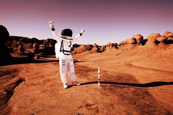 Названо идеальное место на Марсе для обитаемой базы