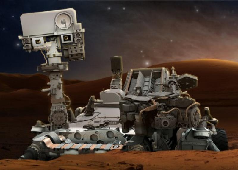 Скелет «Чужого» на Марсе - новая находка виртуальных археологов