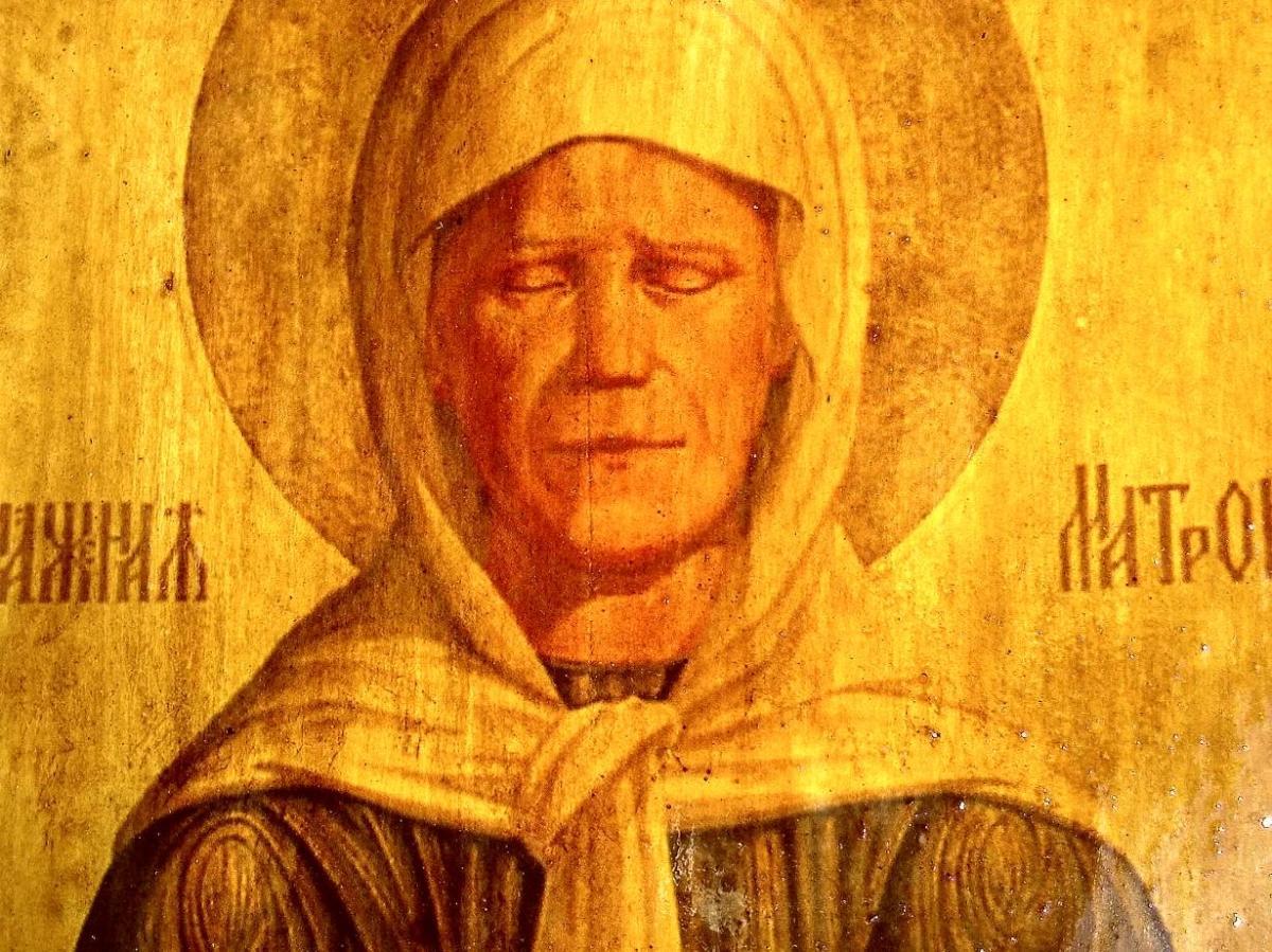 Озвучено пророчество святой Матроны об окончании войны в Донбассе и судьбе Украины