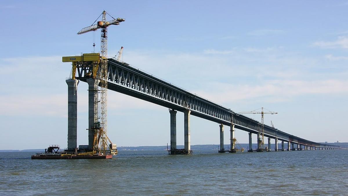 В сети появились новые снимки Керченского моста в Крыму