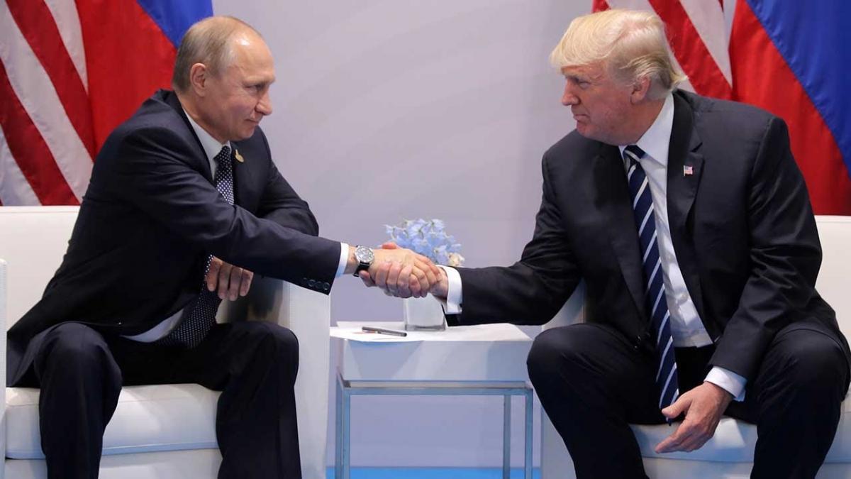 Основная тема встречи Путина и Трампа стала известна прессе