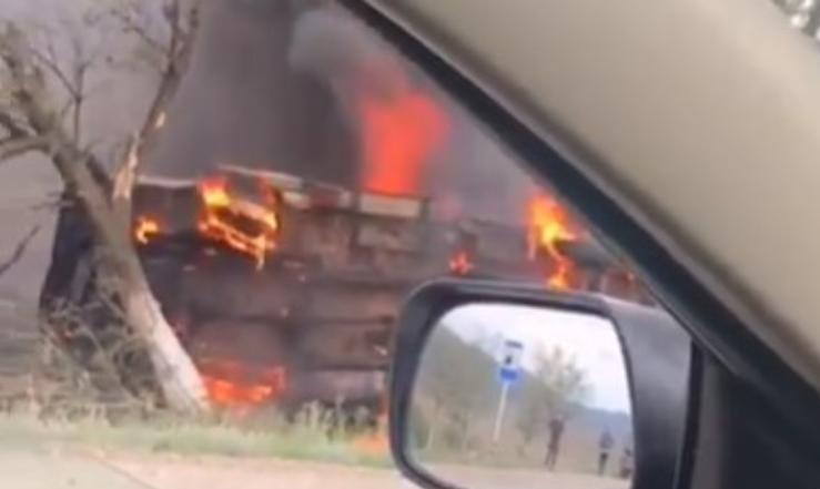 «Огненное» ДТП в Дагестане унесло жизни трех человек