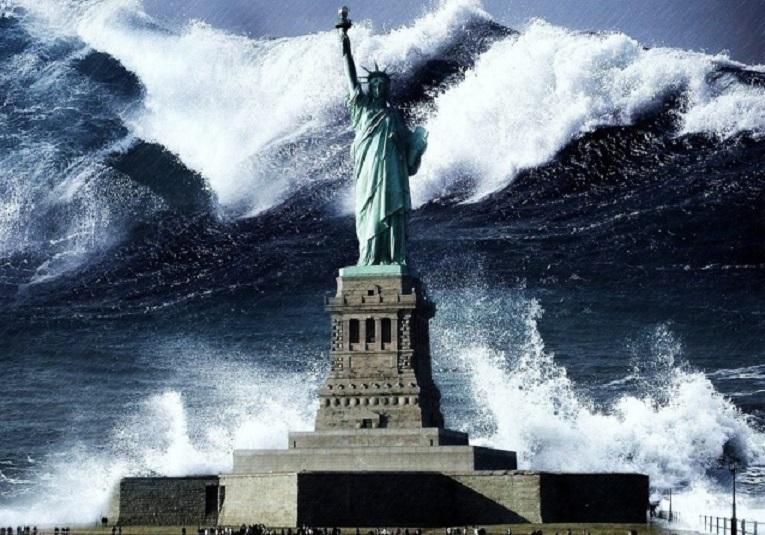 Начинает сбываться страшное пророчество о мегацунами, которое затопит США
