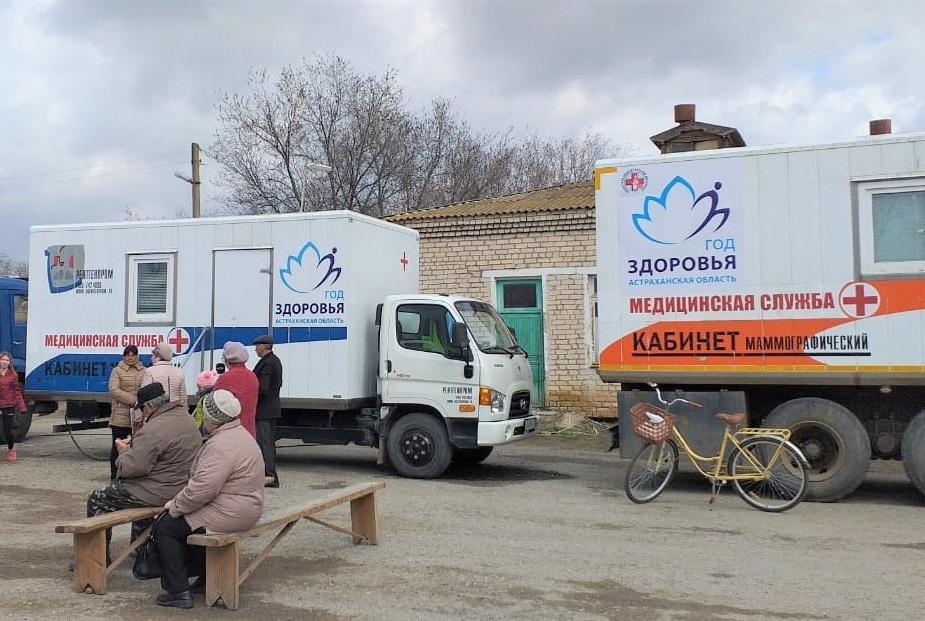 Поезд здоровья вышел на маршрут в Астраханской области