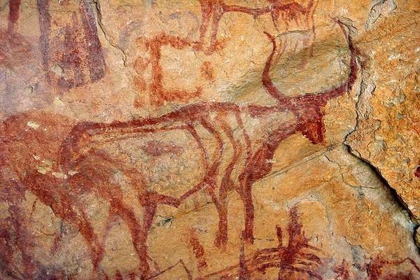 ВИспании учеными найдены древнейшие наскальные рисунки