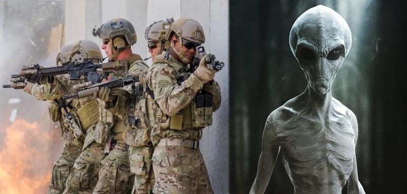 В сети появились доказательства того, что военные США сотрудничают с инопланетянами