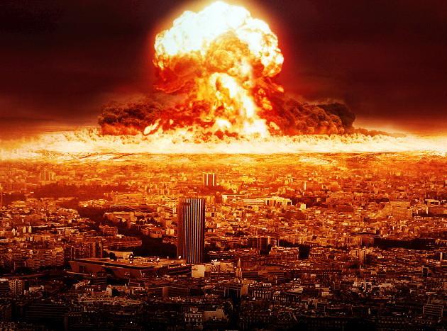 В США наблюдали закат похожий на ядерный взрыв