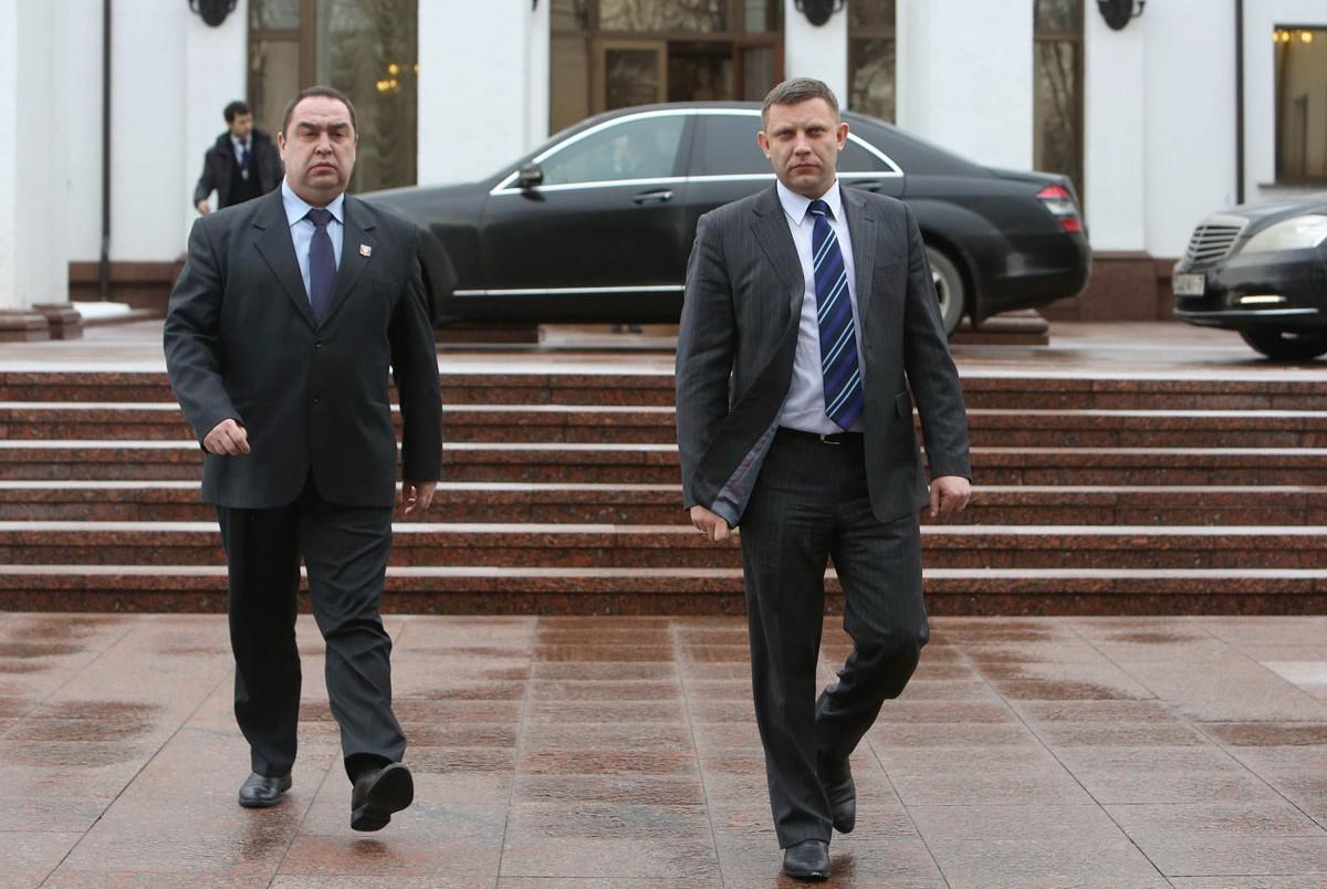 Захарченко и Плотницкий приедут в Крым