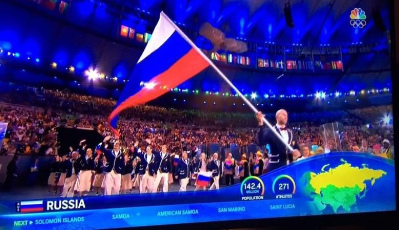 Крым «торжественно» вернули Украине на церемонии открытия ОИ-2016 в Бразилии