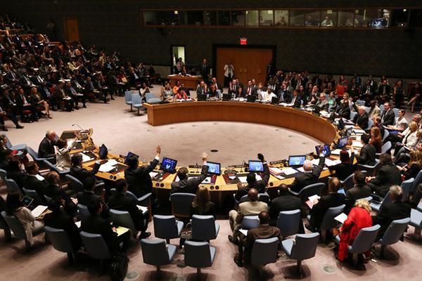 Заседание СБ ООН по Сирии