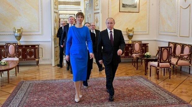 Путин и Кальюлайд