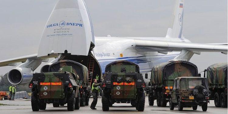 """Грузы НАТО, рейс """"Руслана"""""""