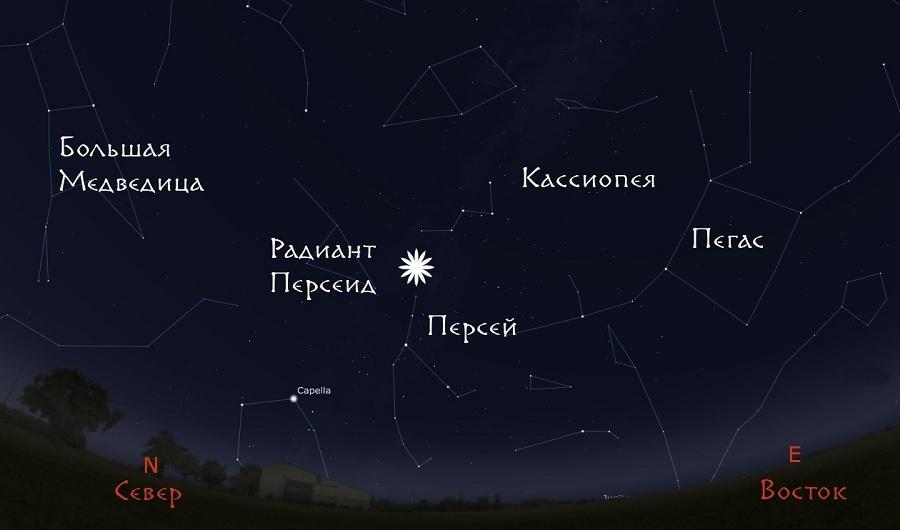 Звездопад с 12 на 13 августа 2017: время, где будет виден метеоритный дождь Персеиды