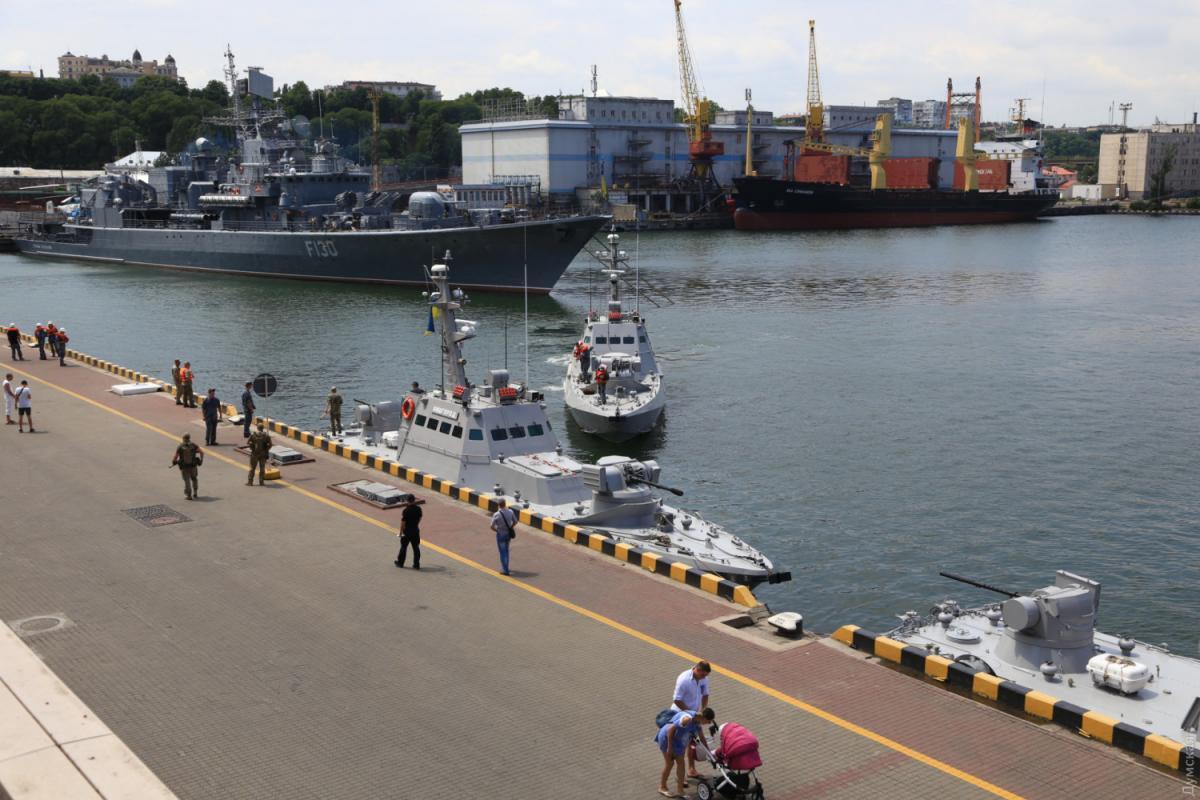 Корабли ВМС Украины причалили к былой гавани Крыма – СМИ
