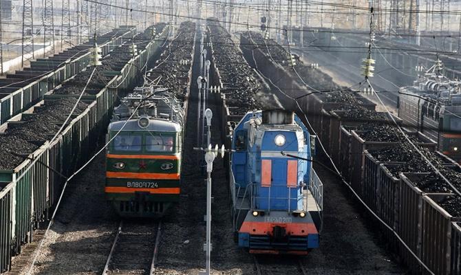 Поезда с углем