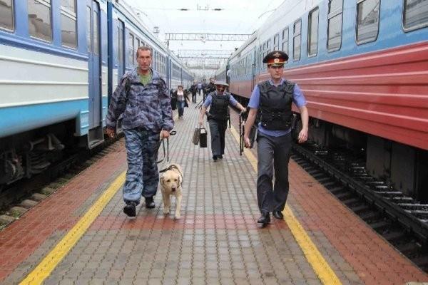 Полиция на РЖД