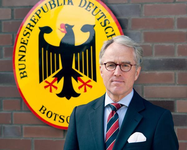 посол ФРГ в РФ Рюдигер фон Фрич
