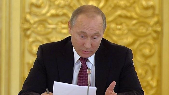 Путин рассказал о своем почерке