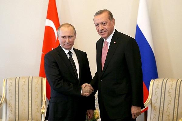 Путин рассказал оботношениях сЭрдоганом и«Турецком потоке»