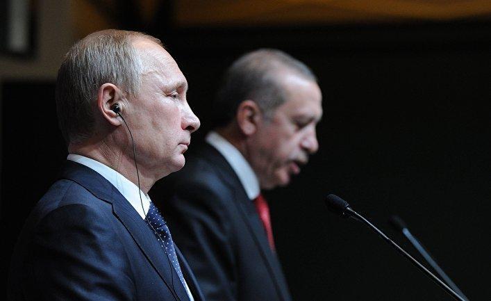 Россия и Турция обнесут Америку «великой диктаторской стеной»