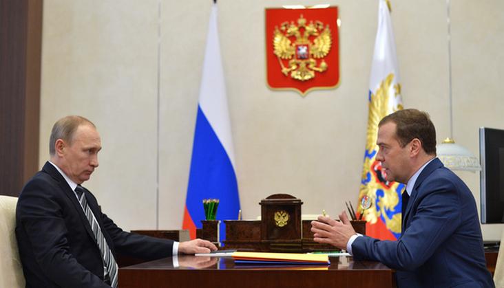 Путин дает поручение Медведеву в связи с укреплением рубля
