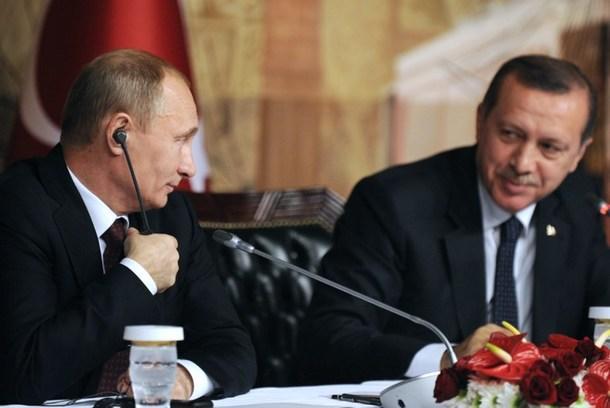 Эрдоган признался Путину в дружеских чувствах