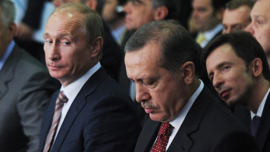 Стало известно, о чем Путин предупредил Эрдогана по телефону после попытки госпереворота в Турции