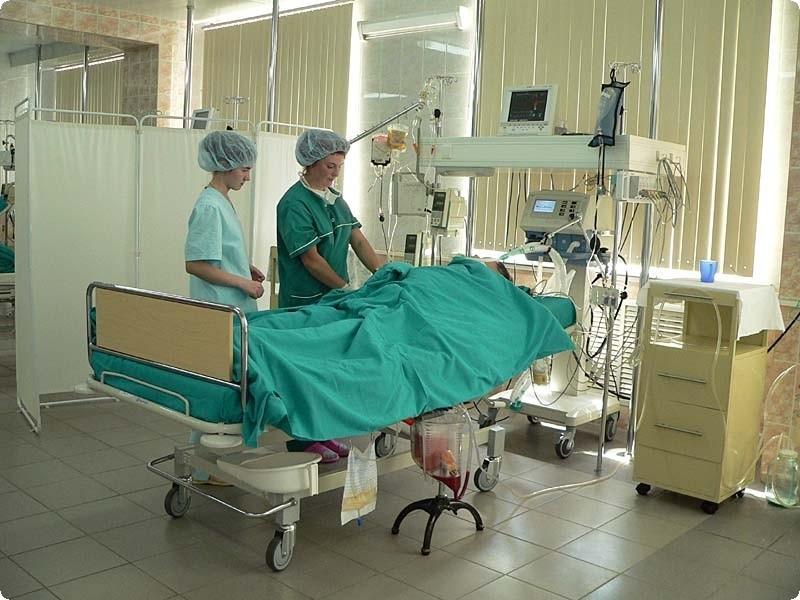 Реанимация в больнице