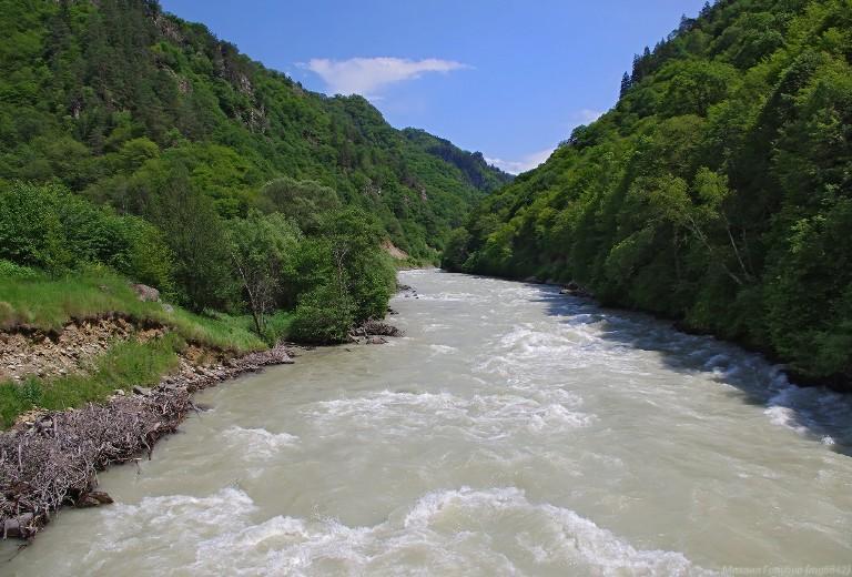 Уровень реки Кубань достиг критических отметок