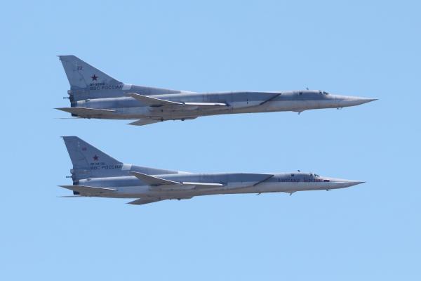 Российские бомбардировщики напугали пассажирский самолет Исландии
