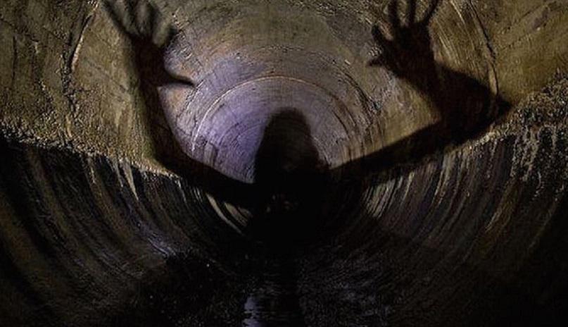 Неизвестное науке гуманоидное существо запечатлели на камеру в австрийской пещере