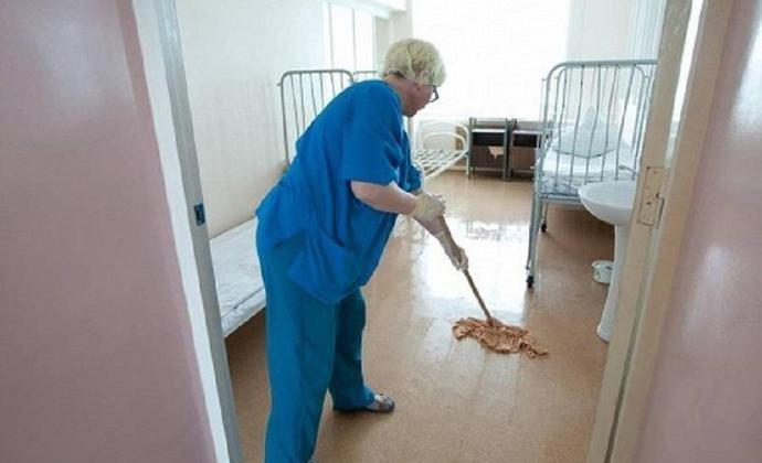 В больнице Владикавказа санитарки устроили бунт из-за низких зарплат