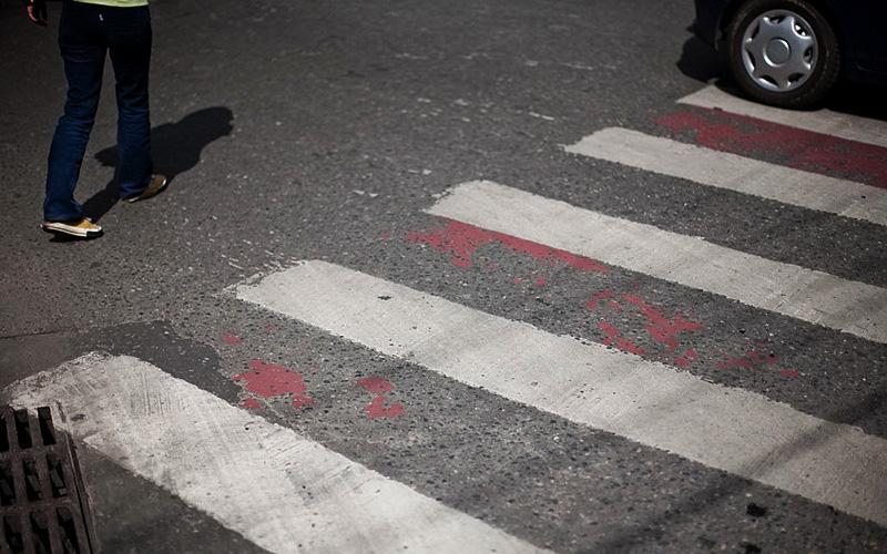 Школьницу сбила насмерть иномарка