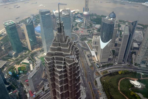 Обзорная площадка в Шанхае