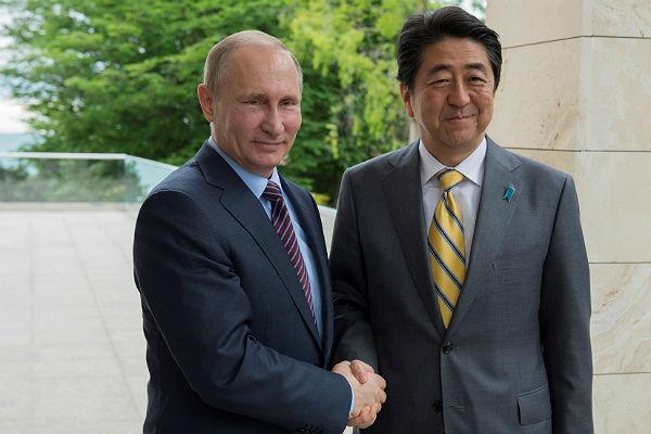 Главы России и Японии обменяются визитами в 2019 году