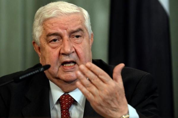 Министр иностранных дел Сирии призвал США к ответу